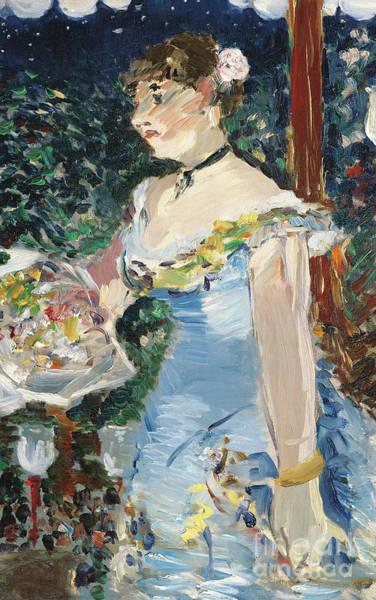 Parisian Cafe Painting - Chanteuse De Cafe Concert, 1879  by Edouard Manet