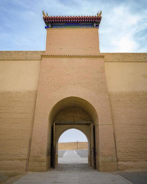 Photograph - Chaozong Door Guan City Jiayuguan Gansu China by Adam Rainoff