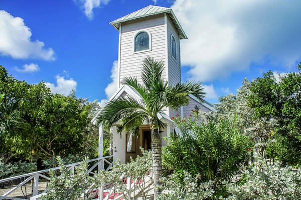 Photograph - Chapel In Half Moon Cay, Bahamas by Dawn Richards