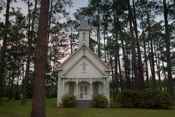 Photograph - Chapel In The Woods by Kelly Gomez