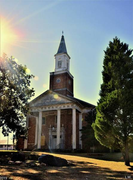 Photograph - Chapel Of Hope Columbia State Hospital Vertical by Lisa Wooten