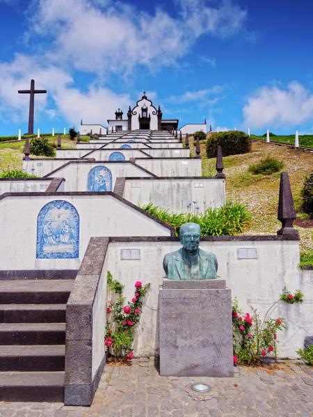 Wall Art - Photograph - Chapel Of Nossa Senhora Da Paz Vila Franca Do Campo Sao Miguel Island Azores Portugal by imageBROKER - Karol Kozlowski