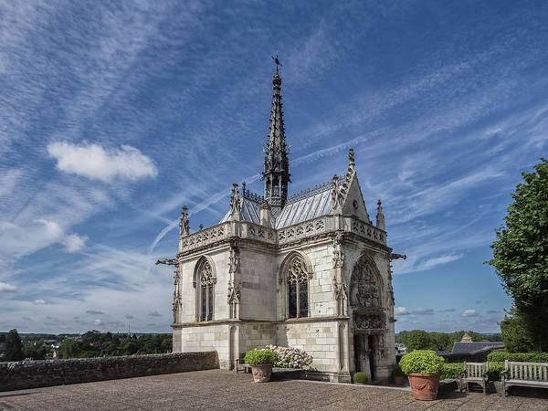 Photograph - Chapel Of Saint Hubert by Mark Playle