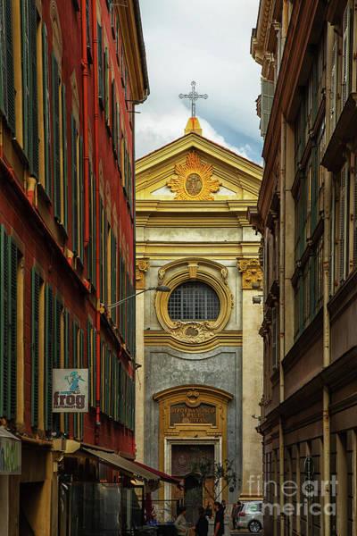 Photograph - Chapel Saint Francois Of Paule Nice France by Wayne Moran