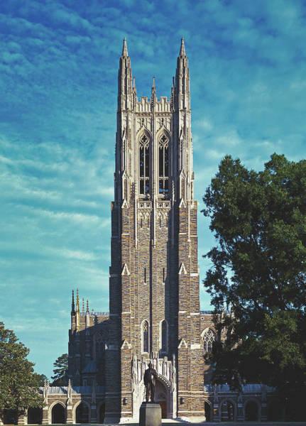 Wall Art - Photograph - Chapel Tower - Duke University by Mountain Dreams