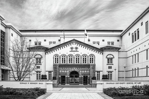 Photograph - Chapman University Kennedy Hall Law School by University Icons