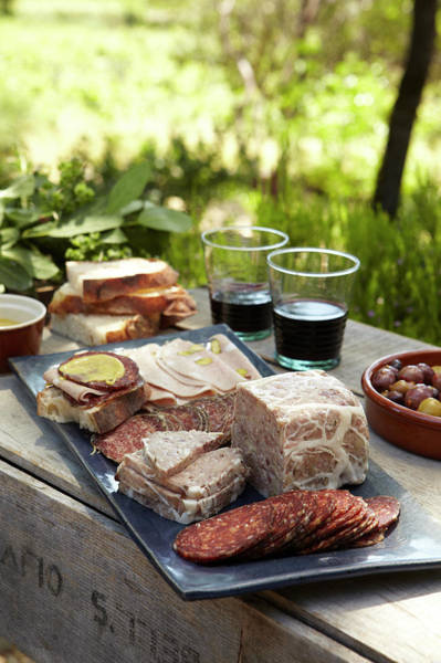 Healthy Lifestyle Photograph - Charcuterie Spread by James Baigrie