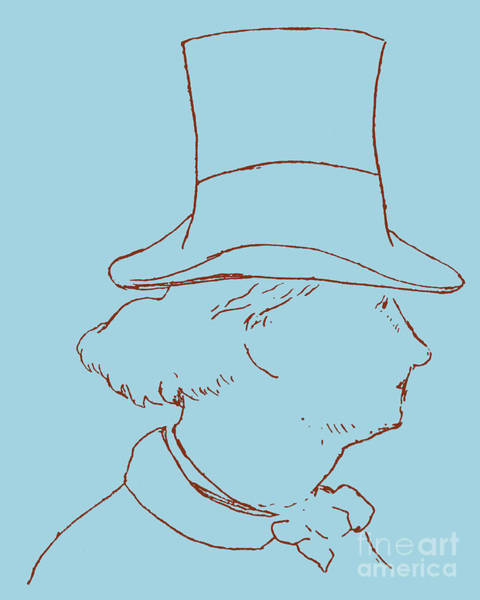 Evil Drawing - Charles Baudelaire By Edouard Manet by Edouard Manet