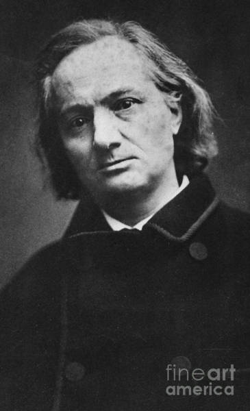 Wall Art - Photograph - Charles Baudelaire, French Poet, 1865, By Carjat by Carjat