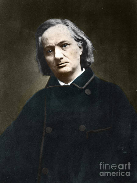 Wall Art - Photograph - Charles Baudelaire, French Poet, 1865 by French School