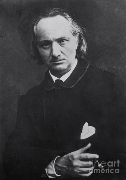 Wall Art - Photograph - Charles Baudelaire With A Cigar, 1864 by Charles Neyt
