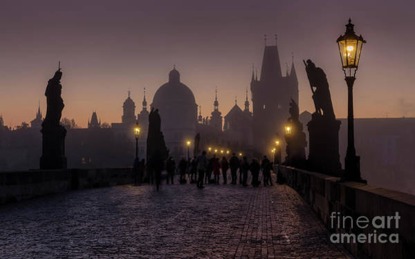 Wall Art - Photograph - Charles Bridge by Kasper Fløjgaard
