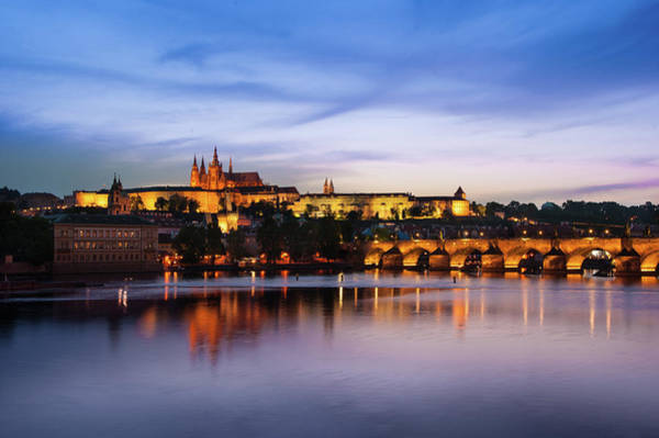 Photograph - Charles Bridge by Milan Ljubisavljevic