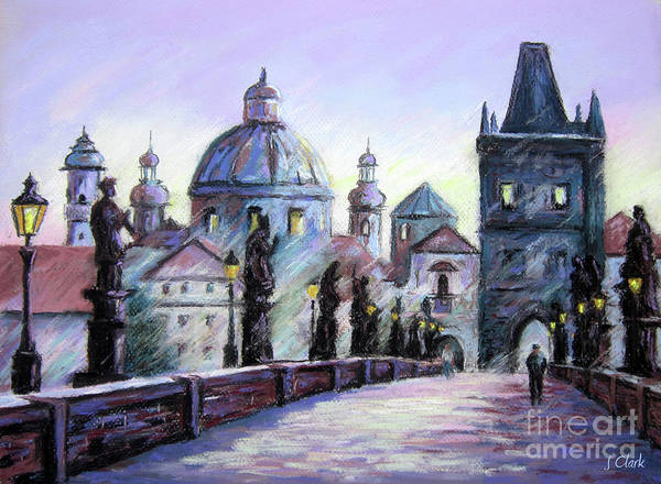 Charles Bridge Painting - Charles Bridge  Prague by John Clark