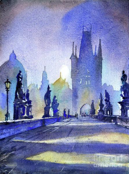 Wall Art - Painting - Charles Bridge- Prague by Ryan Fox