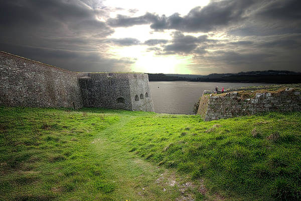 Fortified Wall Art - Photograph - Charles Fort Kinsale Cork by Fergal O'callaghan