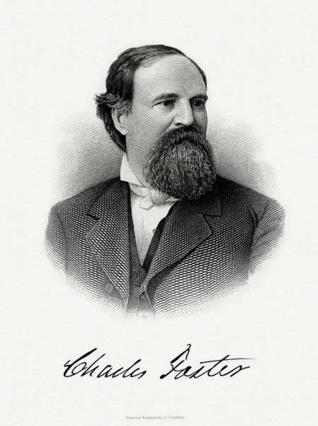 Matter Painting - Charles Foster by The Bureau of Engraving and Printing