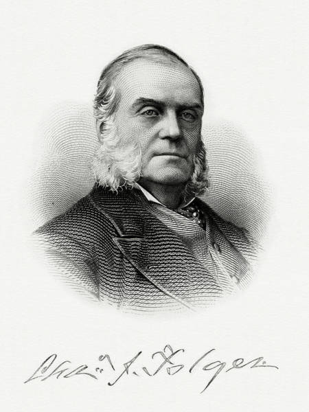 Matter Painting - Charles J. Folger by The Bureau of Engraving and Printing