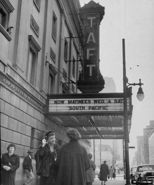 Auditorium Photograph - Charles P. II Taft Misc by Nina Leen