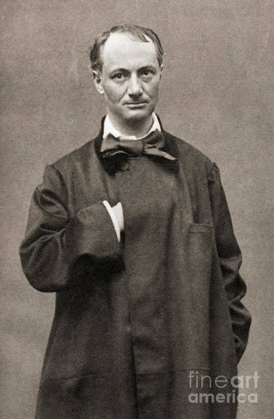 Wall Art - Photograph - Charles Pierre Baudelaire, French Poet, Essayist And Art Critic by French School
