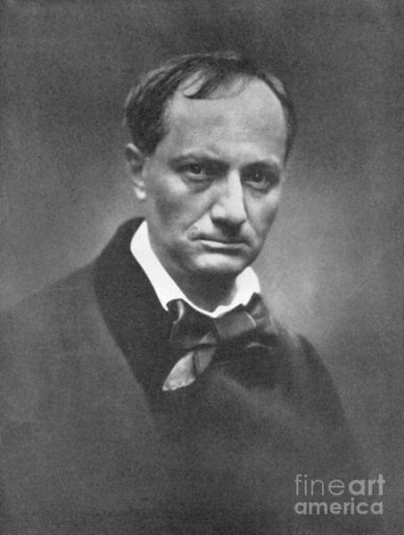 Wall Art - Photograph - Charles Pierre Baudelaire French Symbolist Poet And Art Critic by French School