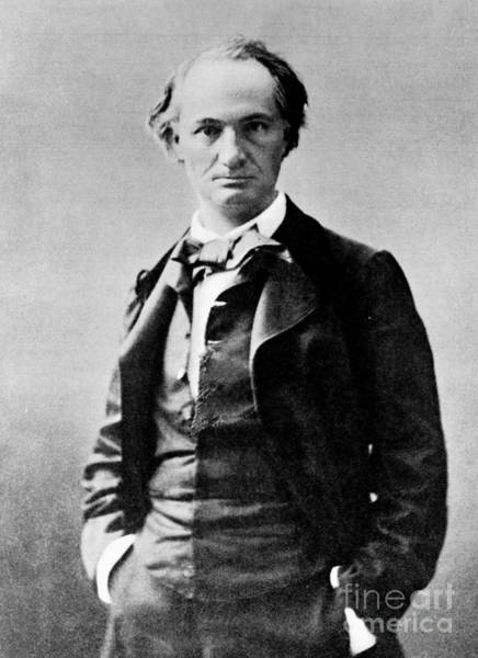 Wall Art - Photograph - Charles Pierre Baudelaire Photograph By Nadar by Nadar