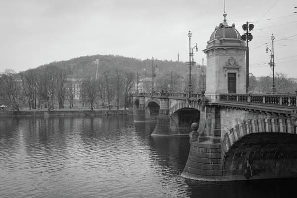 Photograph - Charles River Bridge Prague by Mark Duehmig