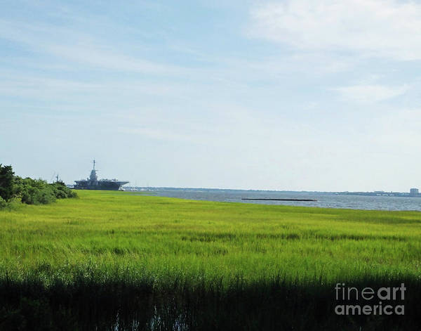 Photograph - Charleston 1 Cooper River by Lizi Beard-Ward