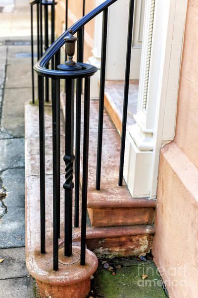 Photograph - Charleston Hand Railing by John Rizzuto