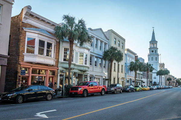 Photograph - Charleston High Street by Framing Places