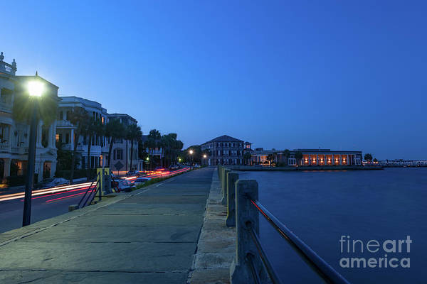 Photograph - Charleston Nightlife - Long Exposure by Dale Powell