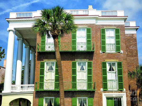 Photograph - Charleston Roper House Profile by John Rizzuto