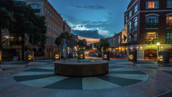 Photograph - Charleston Sc Streets In The Evening by Alex Grichenko