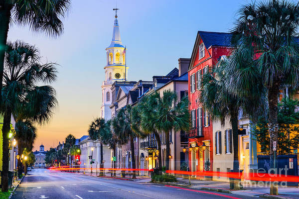 Wall Art - Photograph - Charleston, South Carolina, Usa by Sean Pavone