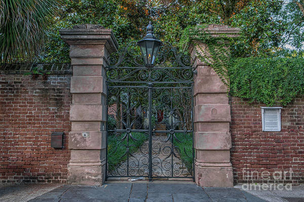 Photograph - Charleston - Sword Gates by Dale Powell