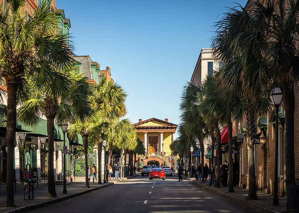 Photograph - Charleston Town Hall by Framing Places