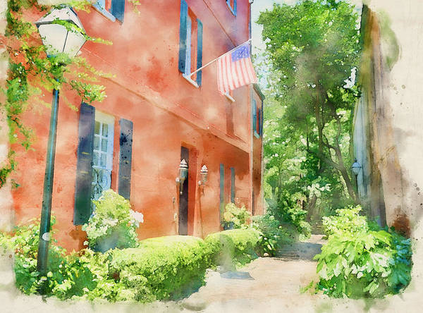 Wall Art - Painting - Charleston Watercolor by Dan Sproul
