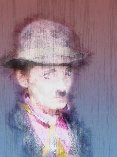 Wall Art - Painting - Charlie Chaplin by ArtMarketJapan
