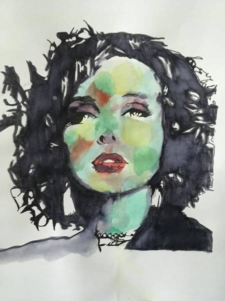 Wall Art - Painting - Charlotte by JeRon Strozier