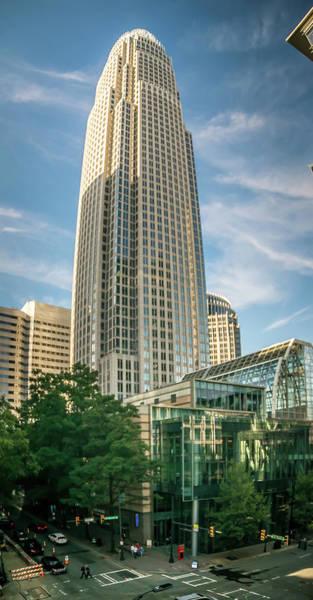 Photograph - Charlotte North Carolina Skyline Cityscape by Alex Grichenko