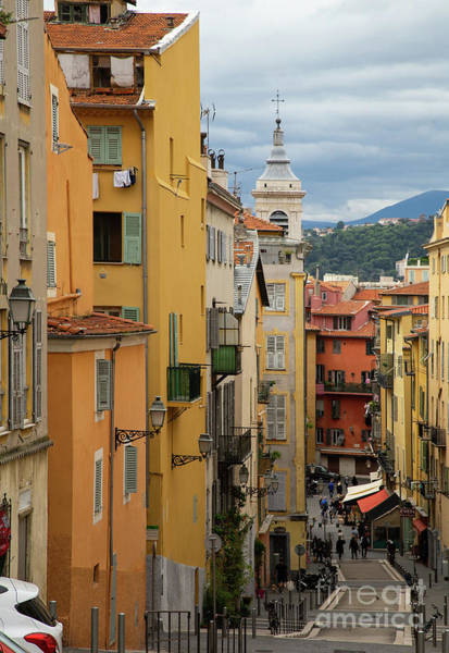 Wall Art - Photograph - Charm Of Vieux Nice Old Nice France  by Wayne Moran