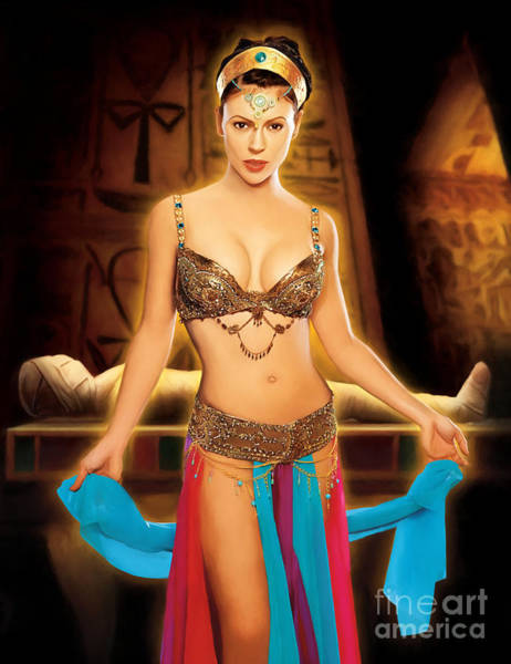 Phoebe Digital Art - Charmed Mummy by The Halliwell Ones