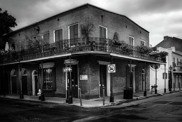 Wall Art - Photograph - Chartres At Dumaine In Black And White by Greg and Chrystal Mimbs