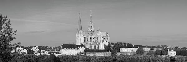 Wall Art - Photograph - Chartres Cathedral, Chartres by Panoramic Images