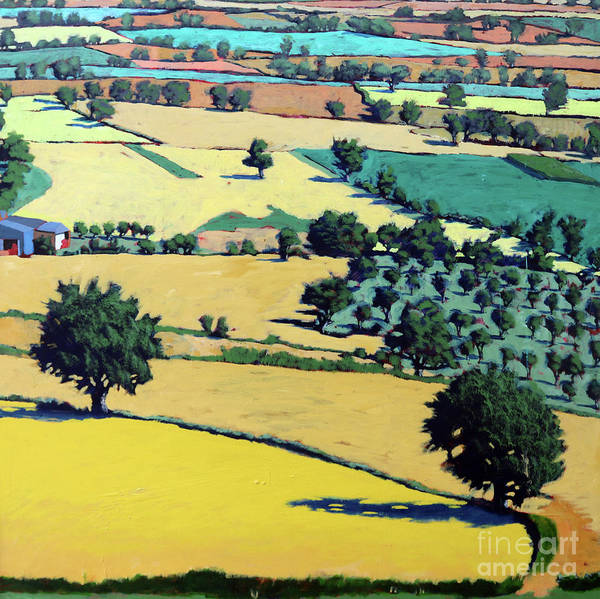 Wall Art - Painting - Chase End by Paul Powis