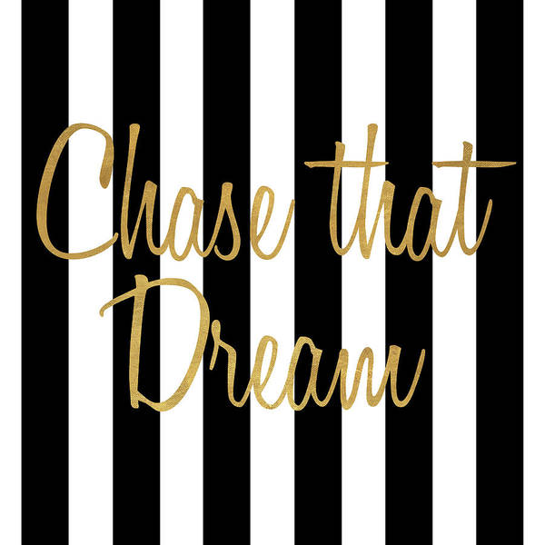 Wall Art - Painting - Chase That Dream Stripes by Sd Graphics Studio