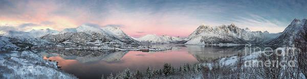 Photograph - Chasing Light Twilight In Lofoten by Damon Mcdonald
