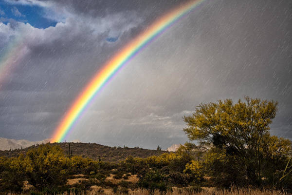 Photograph - Chasing Rain And Rainbows  by Saija Lehtonen