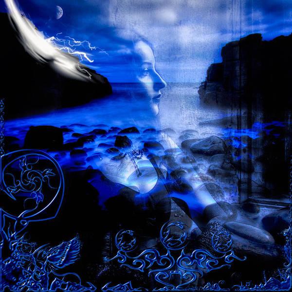 Wall Art - Digital Art - Chasing The Blues by Michael Damiani