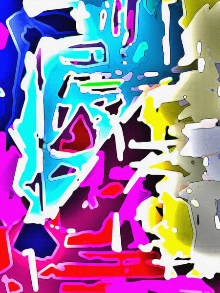 Digital Art - Chasm 1 by Luke Mitchell